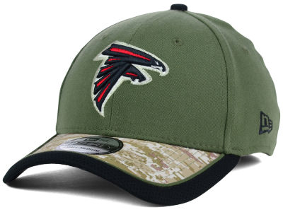 Atlanta Falcons New Era NFL Salute to Service 39THIRTY Cap