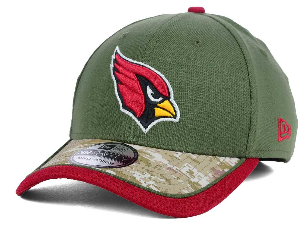 info for bcaae 9302c Arizona Cardinals New Era NFL Salute to Service 39THIRTY Cap