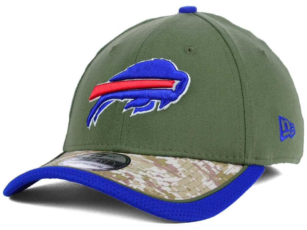 00c246c4702 Buffalo Bills New Era NFL Salute to Service 39THIRTY Cap