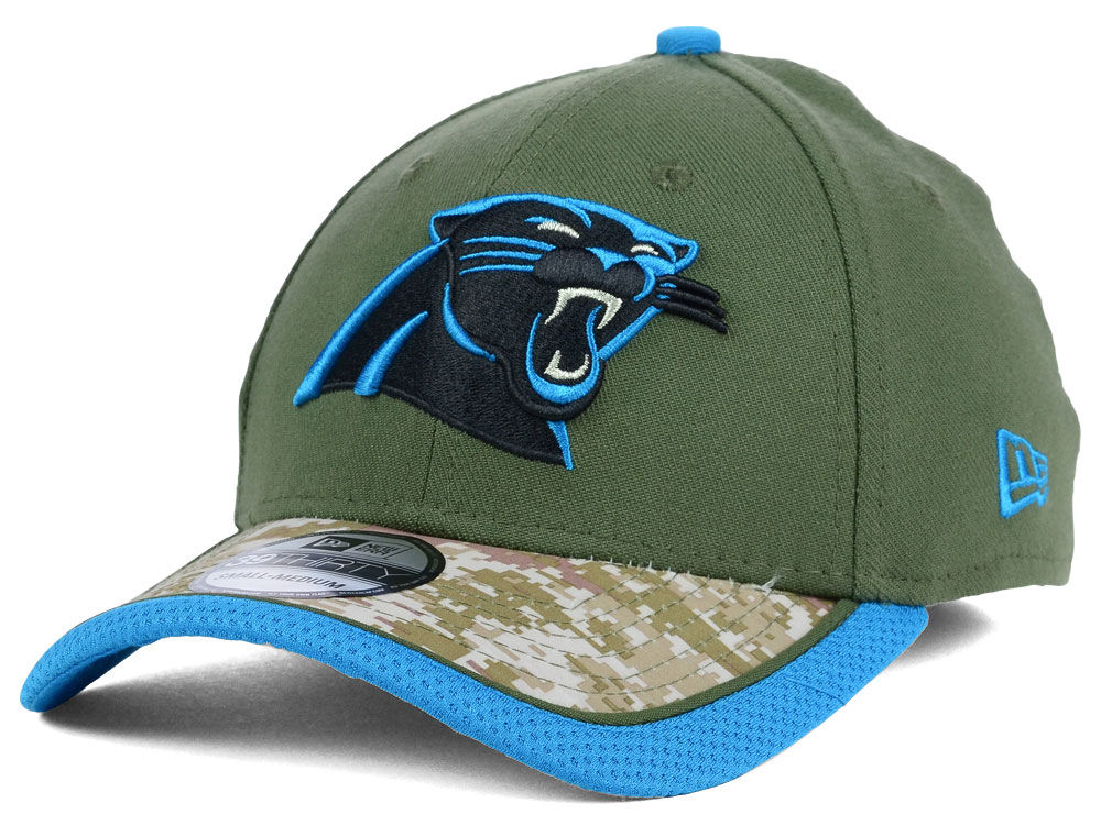 best sneakers 58d85 b3067 Carolina Panthers NFL Salute to Service 39THIRTY Cap   lids.com