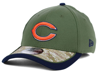 Chicago Bears New Era NFL Salute to Service 39THIRTY Cap