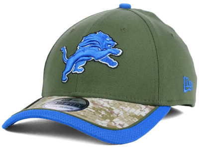 Detroit Lions New Era NFL Salute to Service 39THIRTY Cap