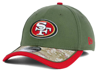 San Francisco 49ers New Era NFL Salute to Service 39THIRTY Cap