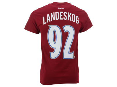 Colorado Avalanche Gabriel Landeskog Reebok NHL Men's Player T-Shirt