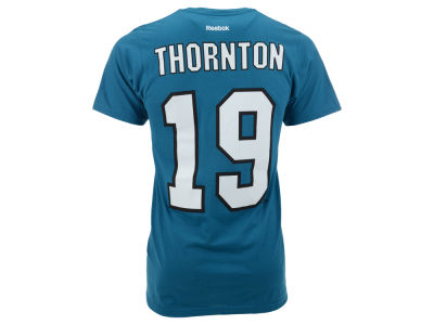 San Jose Sharks Joe Thornton  Reebok NHL Men's Player T-Shirt