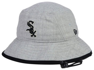 Chicago White Sox New Era MLB Heather Tipped Bucket