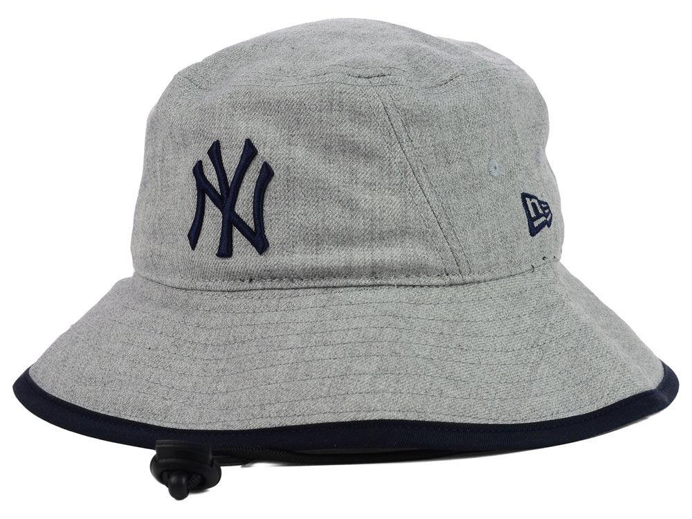 834b44e11bb New York Yankees New Era MLB Heather Tipped Bucket