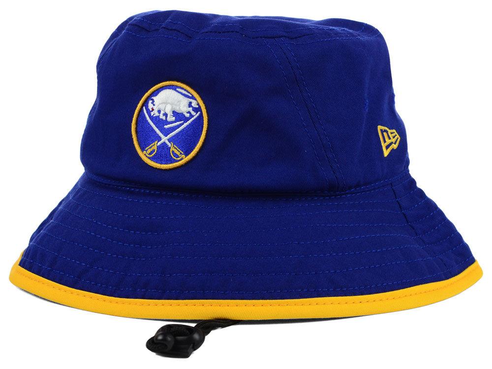 Buffalo Sabres New Era NHL Basic Tipped Bucket  fff8c5661f30