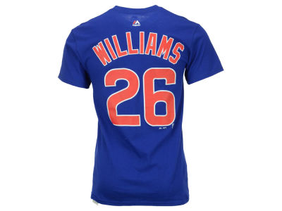 Chicago Cubs Billy Williams Majestic MLB Men's Cooperstown Player T-Shirt