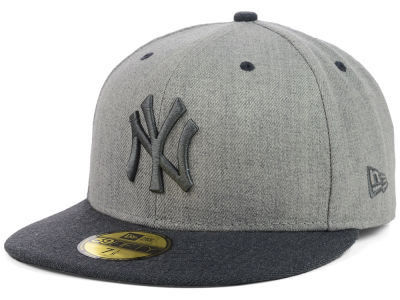 New York Yankees New Era MLB Heather Mashup 59FIFTY Cap