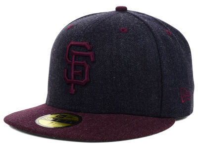 San Francisco Giants New Era MLB Heather Mashup 59FIFTY Cap