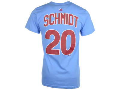 Philadelphia Phillies Mike Schmidt Majestic MLB Men's Cooperstown Player T-Shirt