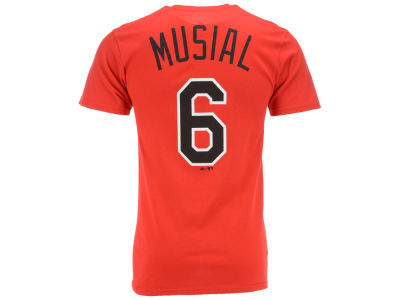 St. Louis Cardinals Stan Musial Majestic MLB Men's Cooperstown Player T-Shirt