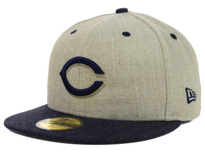 Cincinnati Reds New Era MLB Heather Mashup 59FIFTY Cap