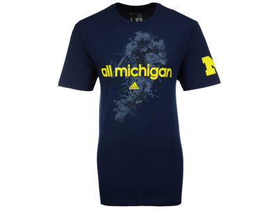 Michigan Wolverines adidas NCAA Men's Go To Power T-Shirt