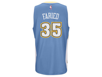 Denver Nuggets Kenneth Faried adidas NBA Men's New Swingman Jersey