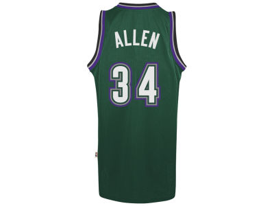 Milwaukee Bucks Ray Allen adidas NBA Men's Retired Player Swingman Jersey