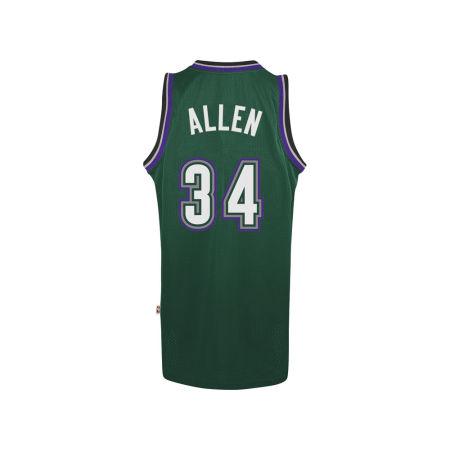 Milwaukee Bucks Ray Allen Adidas NBA Men's Retired Player Swingman Jersey