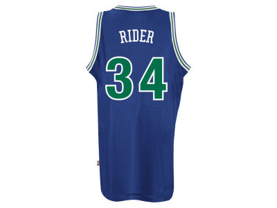Minnesota Timberwolves Isaiah Rider adidas NBA Men's Retired Player Swingman Jersey
