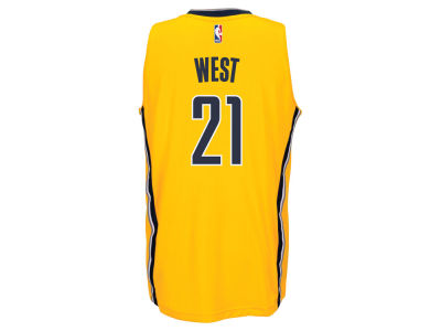 Indiana Pacers David West adidas NBA Swingman Jersey