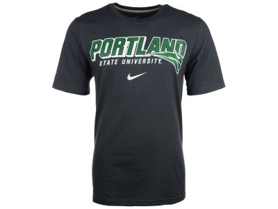 Portland State Vikings Nike NCAA Slanted School Name T-Shirt