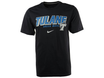 Tulane Green Wave Nike NCAA Slanted School Name T-Shirt