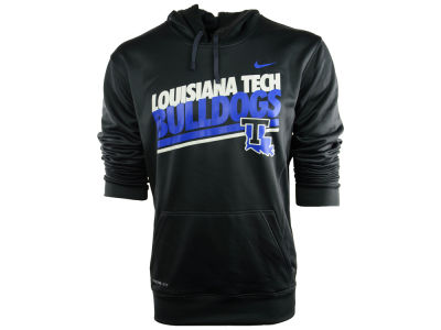 Louisiana Tech Bulldogs Nike NCAA School Double Stripe Hoodie
