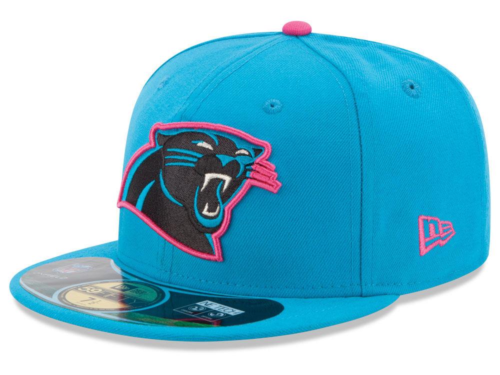c36096d914a Carolina Panthers New Era NFL 2014 Breast Cancer Awareness 59FIFTY Cap