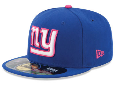 New York Giants New Era NFL 2014 Breast Cancer Awareness 59FIFTY Cap