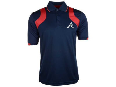 Atlanta Braves MLB Men's Fusion Polo Shirt