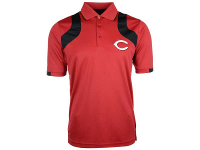 Cincinnati Reds MLB Men's Fusion Polo Shirt