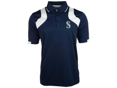 Seattle Mariners MLB Men's Fusion Polo Shirt