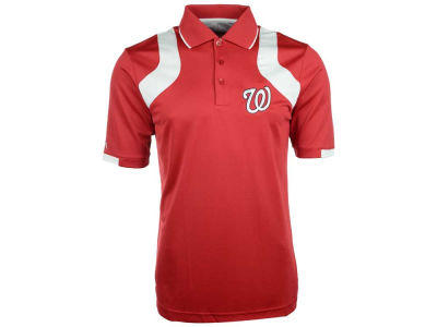 Washington Nationals MLB Men's Fusion Polo Shirt