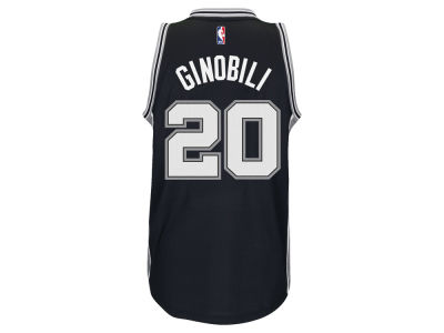 San Antonio Spurs Manu Ginobili adidas NBA Men's New Swingman Jersey