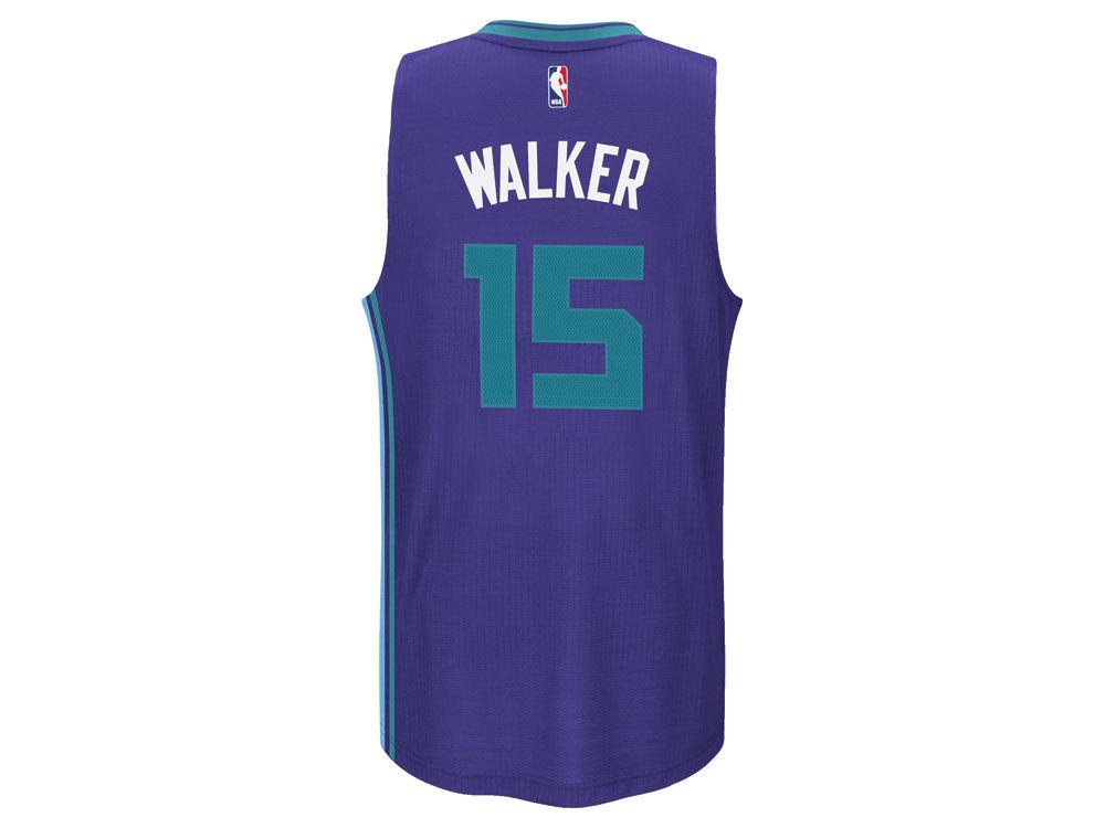 Charlotte Hornets Kemba Walker adidas NBA Men s Swingman Jersey ... 6dee197c2