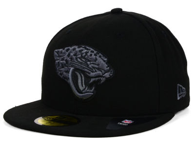 Jacksonville Jaguars New Era NFL Black Gray Basic 59FIFTY Cap
