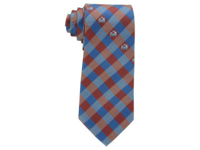 Colorado Avalanche Polyester Checked Tie