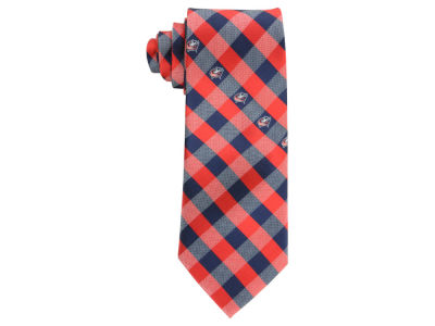 Columbus Blue Jackets Polyester Checked Tie