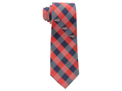 Washington Capitals Polyester Checked Tie