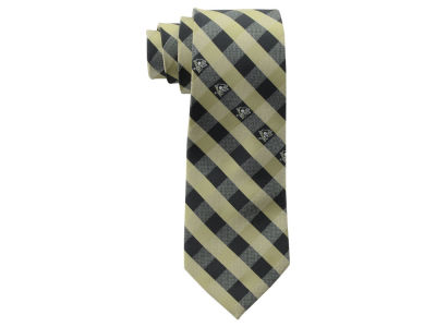 Pittsburgh Penguins Polyester Checked Tie