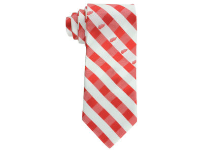 Detroit Red Wings Polyester Checked Tie