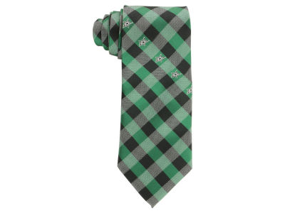 Dallas Stars Polyester Checked Tie