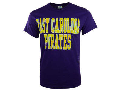 East Carolina Pirates 2 for $28 NCAA Bold Straight T-Shirt