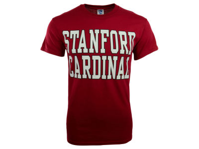 Stanford Cardinal NCAA Men's Bold Straight T-Shirt