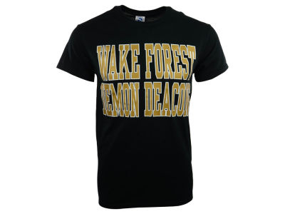 Wake Forest Demon Deacons NCAA 2 for $28 NCAA Bold Straight T-Shirt
