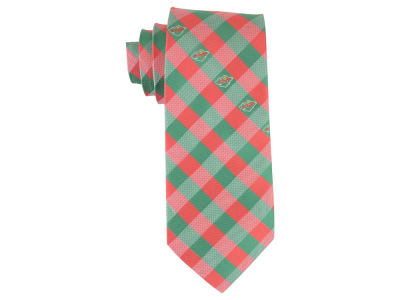 Minnesota Wild Polyester Checked Tie