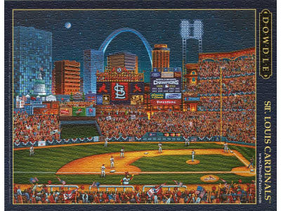 St. Louis Cardinals 500 Piece City-Stadium Puzzle