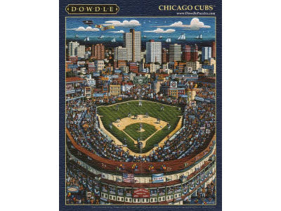 Chicago Cubs 500 Piece City-Stadium Puzzle