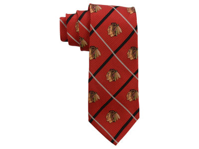Chicago Blackhawks Silver Line Necktie