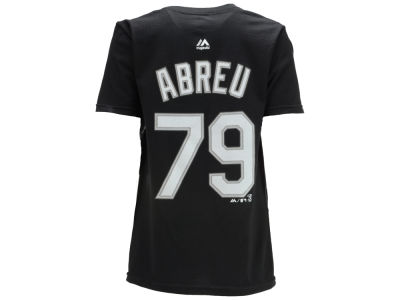 Chicago White Sox Jose Abreu Majestic MLB Youth Official Player T-Shirt